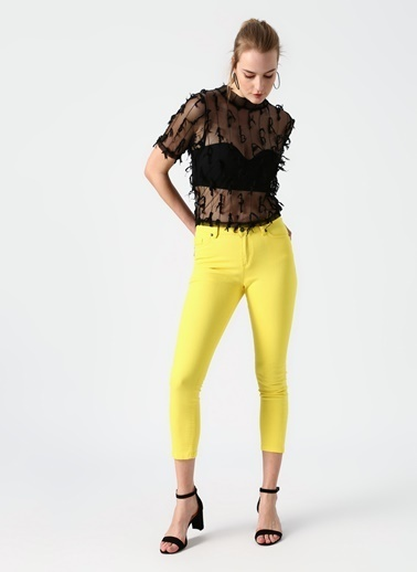 Limon Company Pantolon Sarı